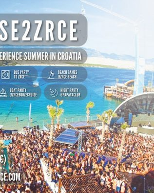 Tour CRUISE 2 ZRĆE – CLUBBING Package – AUGUST, Saturday, 25.08.2018.