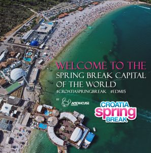 CROATIA SPRING BREAK 2018: SPRING BREAK BY DAY / EDM FESTIVAL BY NIGHT!